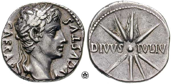 Jesus was not the only Son of God in the Roman world. Augustus claimed that title too.